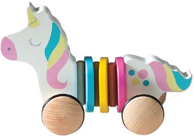 Pull Along Toy Unicorn