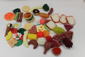 50pc Play Food