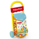 Fisher Price Pull Along Trolley with Pit Balls