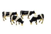 1:50 4pc Farm Cow Figures