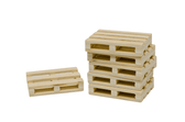1:32 8pc Wooden Farm Pallets