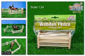 Wooden Fences set of 6pcs