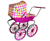 Monarch Antique Doll Pram