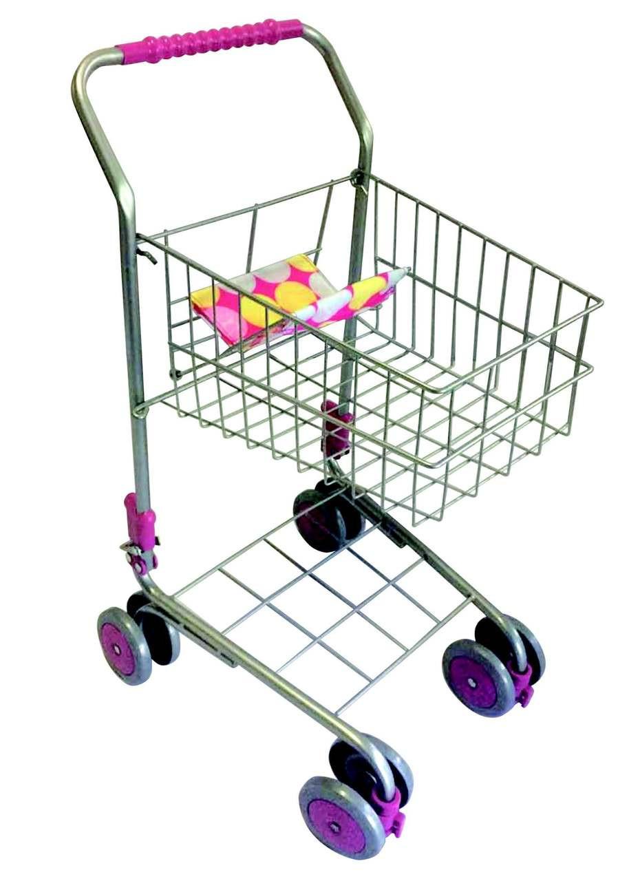 Monarch Doll Shopping Trolley