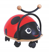 Bubbadoo Caster Wheel Ride On - Ladybug