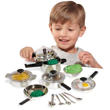 Casdon Kids Pots and Pans Lifestyle Image