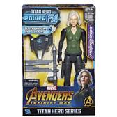 "Avengers 12"" Infinity War Titan Hero Power Pack Black Widow"