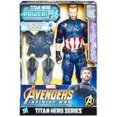 "Avengers 12"" Infinity War Titan Hero Power Pack Captain America"