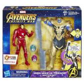 "Avengers Infinity War 6"" Iron Man VS Thanos Battle Set"