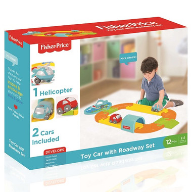 Fisher Price Kids Car and Roadway Packaging