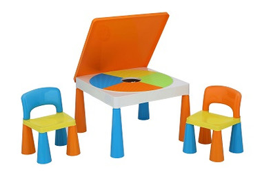 Large Kids Table and Chair Set - Block Surface Image