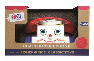 Fisher Price Classic Chatter Phone Packaging Shot