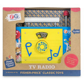 Fisher Price Classic TV Radio Packaging Shot