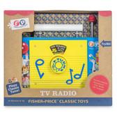 Fisher Price Classic TV Radio Packaging Shot