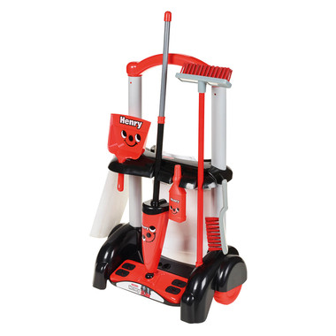 Casdon Henry Toy Cleaning Trolley Image 1