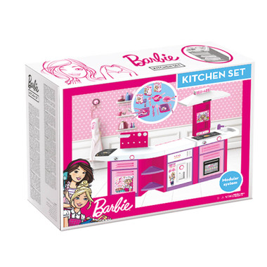 Barbie Electronic Kitchen Playset Packaging