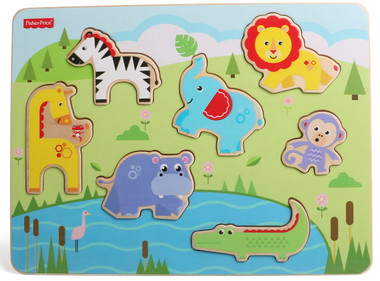 Fisher Price Wooden Animal Puzzle