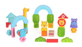 Fisher Price Wooden Blocks Zoo Image 1