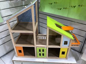 Bubbadoo Kids Wooden Doll House