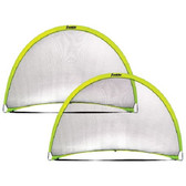 Pop Up Dome Goal 6' x 4' - 2 Pack