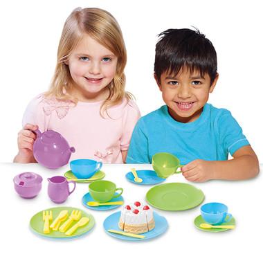 Casdon Kids Tea Set Lifestyle shot