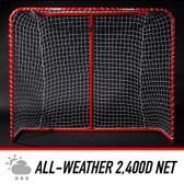 NHL 54in Steel Hockey Goal Image 4
