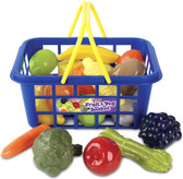 Casdon Play Food Basket
