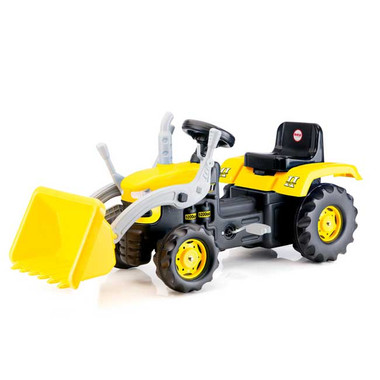 DOLU Pedal Operated Ride on Tractor with Excavator