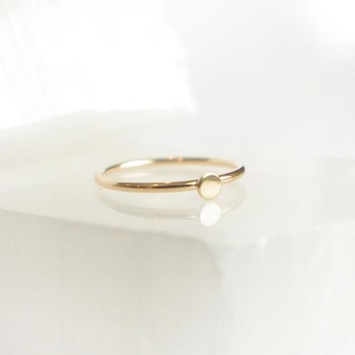 Mini Circle - Gold