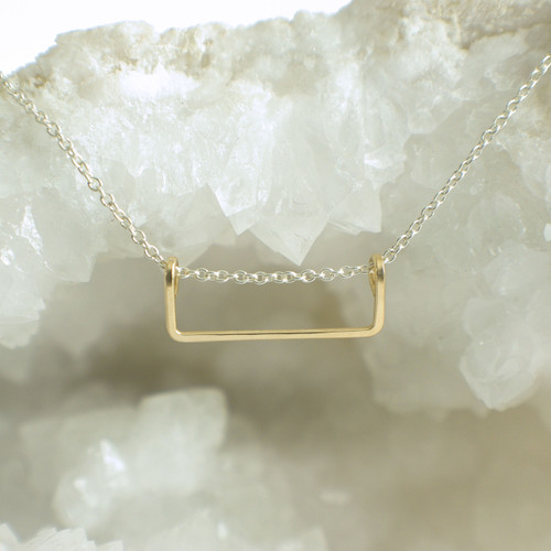 Rectangle - Silver & Gold