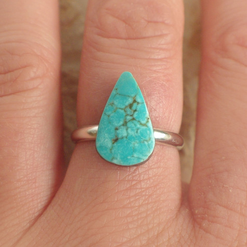 Turquoise, All Silver - 36