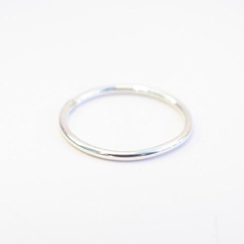 Plain Band - Silver