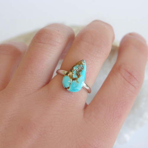 Turquoise, All Silver - #11
