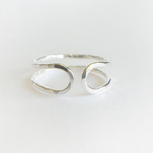 Double Band Hugger - Silver