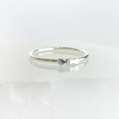 Bubble Bar Horizontal - Silver
