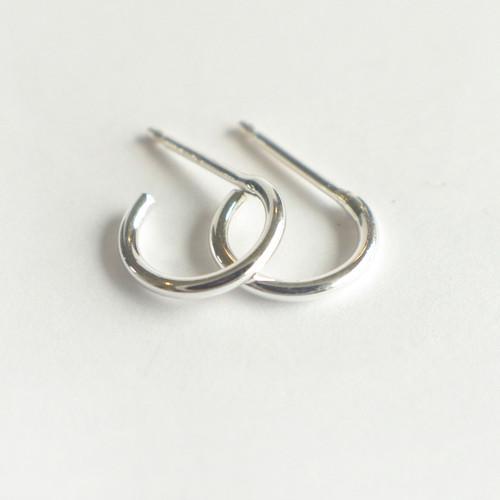 Mini Hoops 10mm - Silver