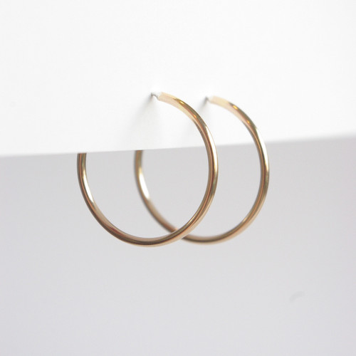 Hoops 28mm - Gold