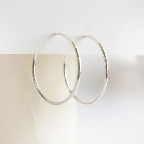 Hoops 35mm - Silver