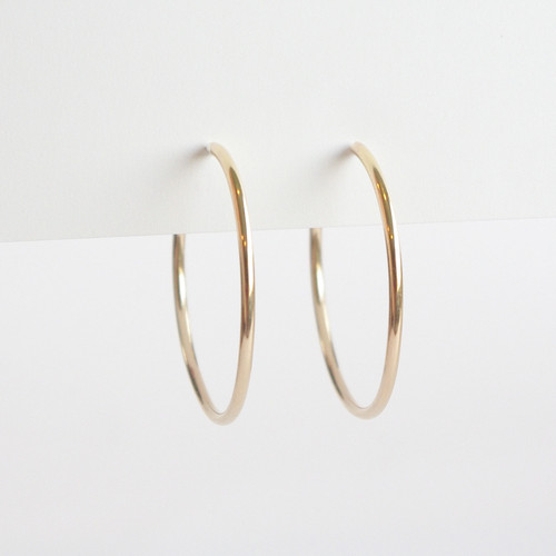 Hoops 35mm - Gold