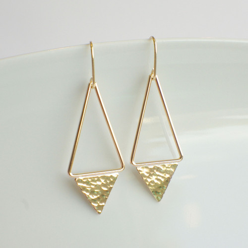 Triangle Dangle - Gold