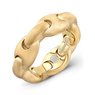 Gold Plated G Link Ring