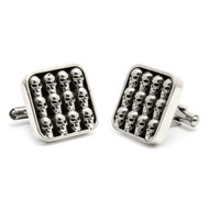 Multi Skulls Cuff Links