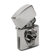 Sterling Silver Skull Cigar Lighter