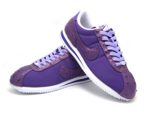 Room 101 Brand Purple Ostritch Nike Cortez