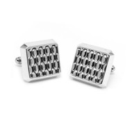 Sterling Silver Spectrum Cufflinks