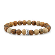 Room101 Agate Bead Stretch Bracelet