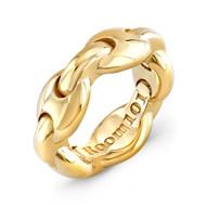 18K Gold G Link Ring