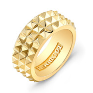 18K Gold Multi Spike Ring