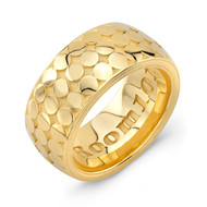 Coaster 18K  Gold Wedding Band