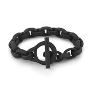 Black PVD Eddie Link Bracelet
